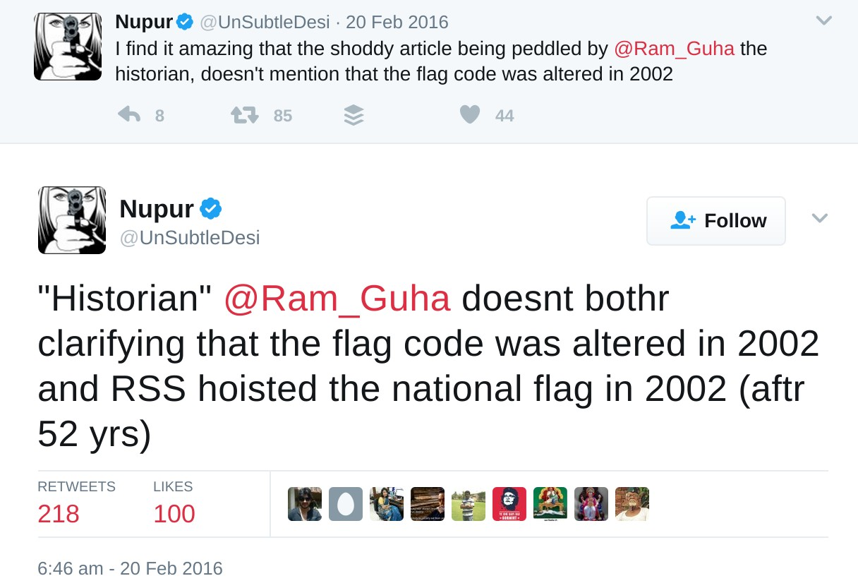 unsubtledesi rss did not hoise because flag code changed in 2002