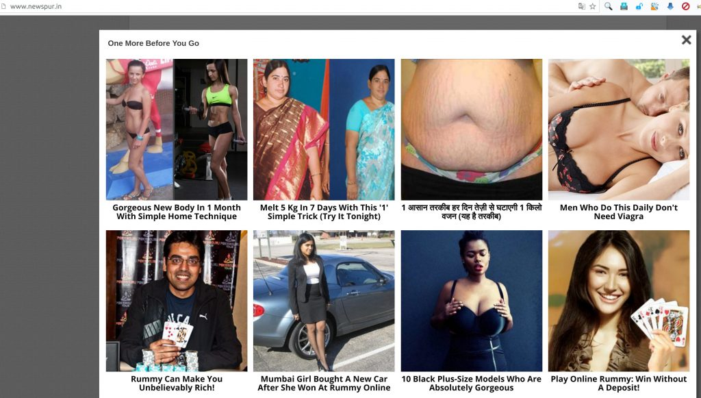 advertisements on newspur.in