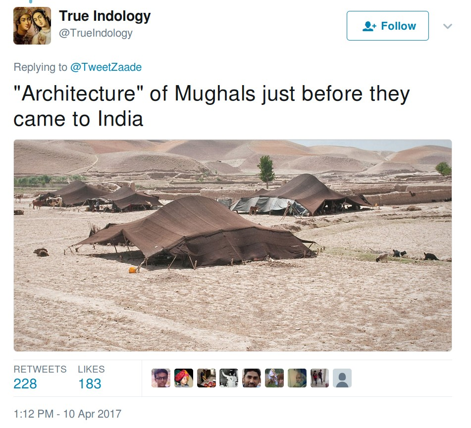 Architecture of Mughals just before they came to India.