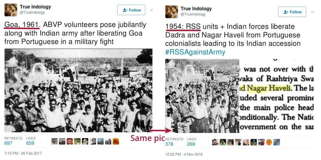 Same picture used for Liberation of Goa and Liberation of Dadra, Nagar Haveli