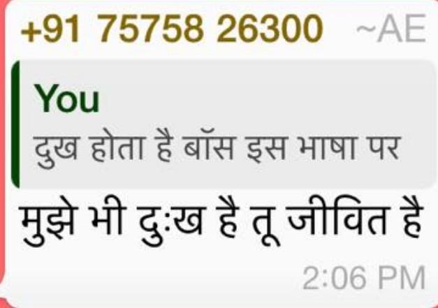 Niraj Dave abusing Ravish