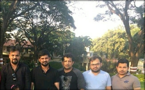 pratap-simha-with-vivek-shetty-mahesh-vikram-hegde