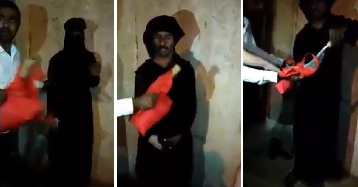 Old video of burqa-clad man caught outside mosque falsely shared as RSS man apprehended - Alt News