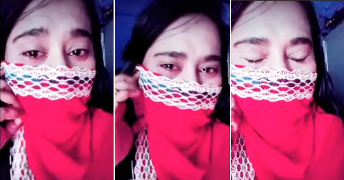 Video of woman emoting to a song edited and shared with false, communal narrative - Alt News