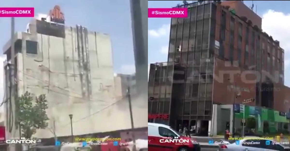 Old video of earthquake in Mexico shared as recent - Alt News