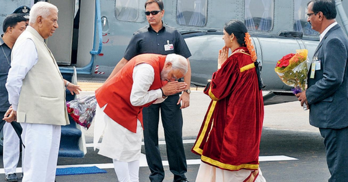 No, PM Modi isn't bowing to Gautam Adani's wife in this photo - Alt News