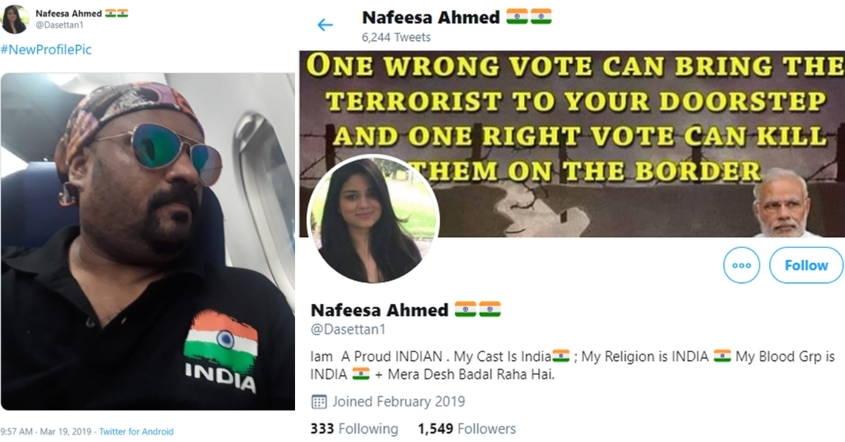 PM Modi supporter poses as Muslim woman using Mehbooba Mufti's daughter's photo on Twitter