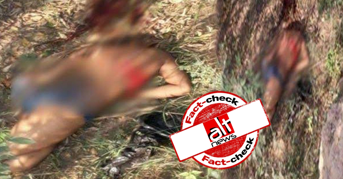 Image from 2017 shared as woman raped and beheaded in Saharanpur, Uttar Pradesh - Alt News