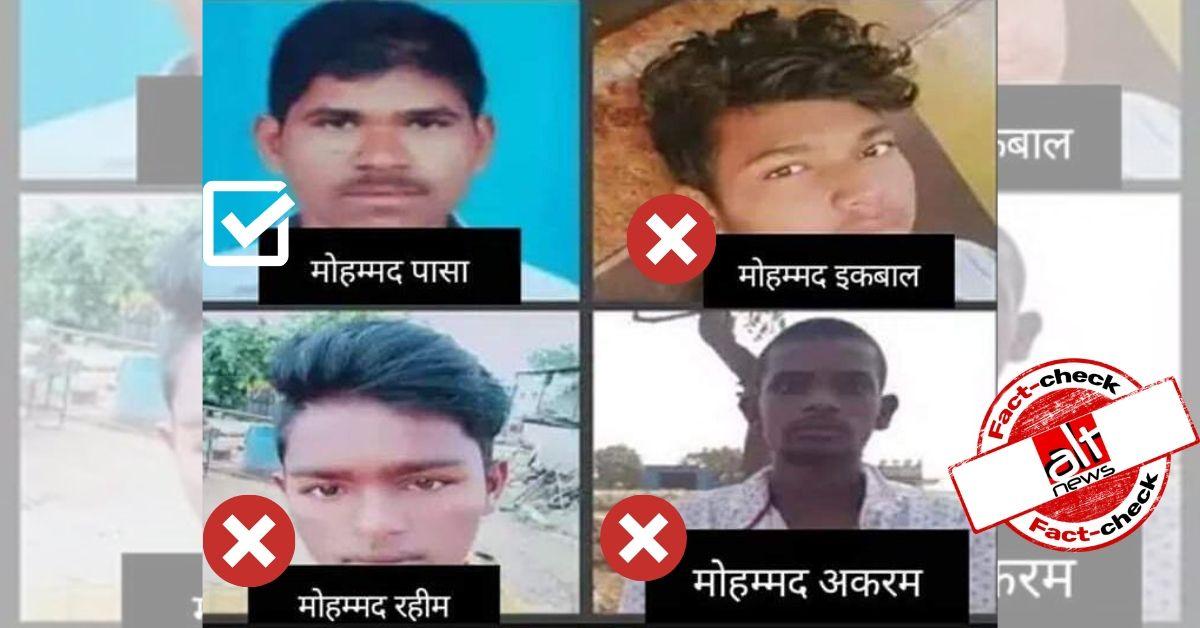 False claim suggests all Hyderabad rape accused hailed from Muslim community - Alt News