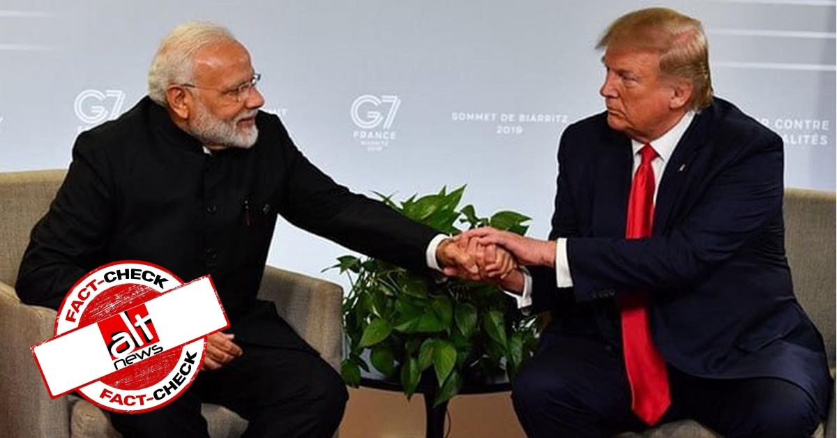 Is classification as 'developed nation' by US good news for India? - A fact-check - Alt News