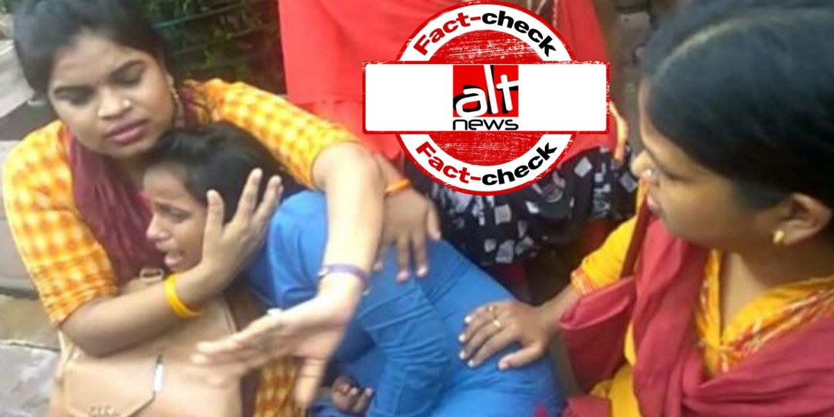 Old video of pregnant woman injured in UP police lathicharge viral amid CAA protest - Alt News